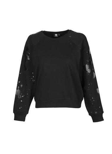 Hummel Kadın Sweatshirt Etos 921107-2001 Siyah